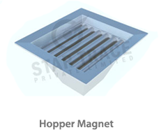 Drawer-in-housing Hopper-magnet